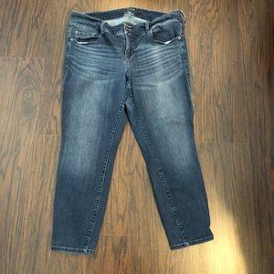 Torrid Premium denim jeans Sz 20 Skinny 40x26